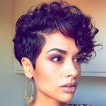 Penteados para cabelos cacheados curtos - Cabelos curtos e cacheados, penteado para cabelo cacheado curto 27
