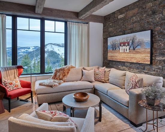 Sofas em l para salas pequenas for Sofa para sala de tv