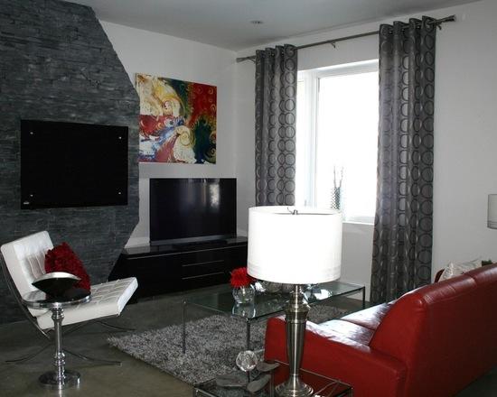 como-combinar-sofa-vermelho-com-tapete (2)