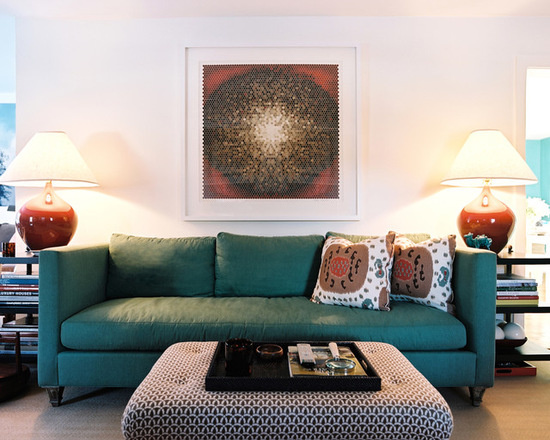 decoracao-sala-sofa-azul-turqueza