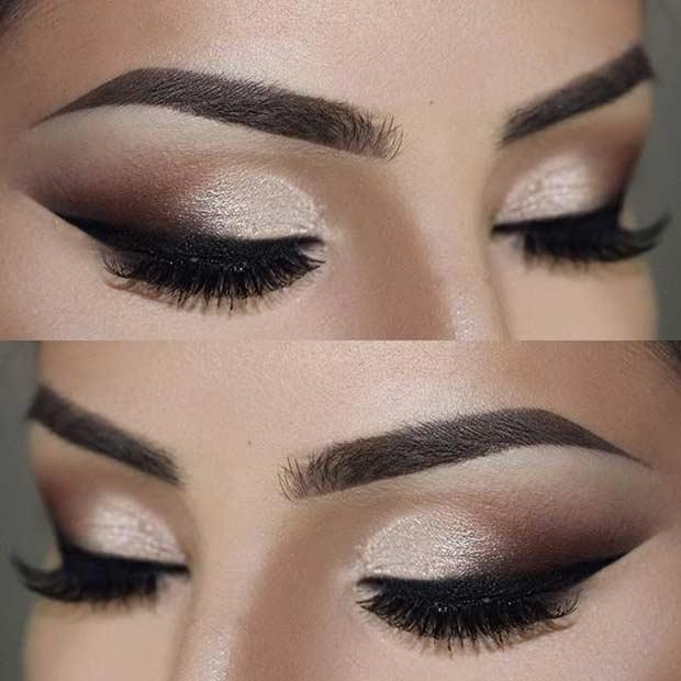 Maquiagem Para Noiva olhos Pratas