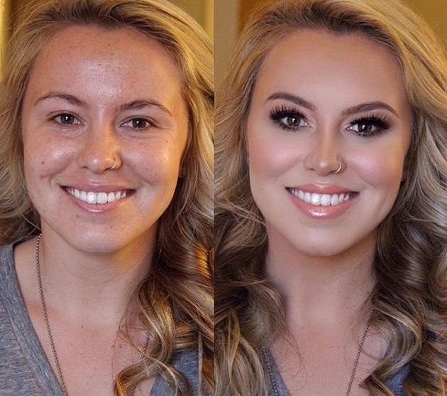 how to build confidence for not wearing makeup