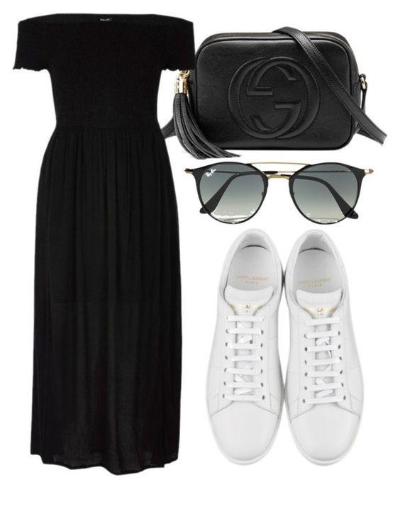 8af530c4ebf ... dicas em como usar tênis branco com vestido e que se inspirem em criar  diversas variações de looks casuais